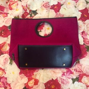 Kate Spade Felt Tote with Small Bag